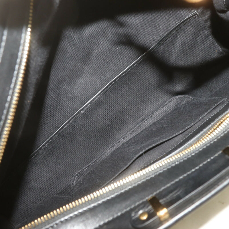 Pre-loved authentic Chloe Hand Bag Black Unborn Calf sale at jebwa