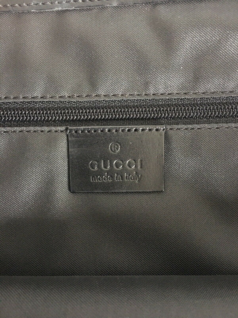 Pre-loved authentic Gucci Gg Jackie Black Jacquard sale at jebwa