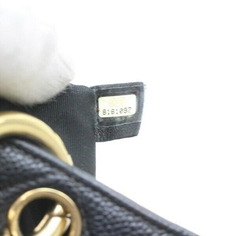 Pre-loved authentic Chanel Chain Shoulder Bag Black sale at jebwa
