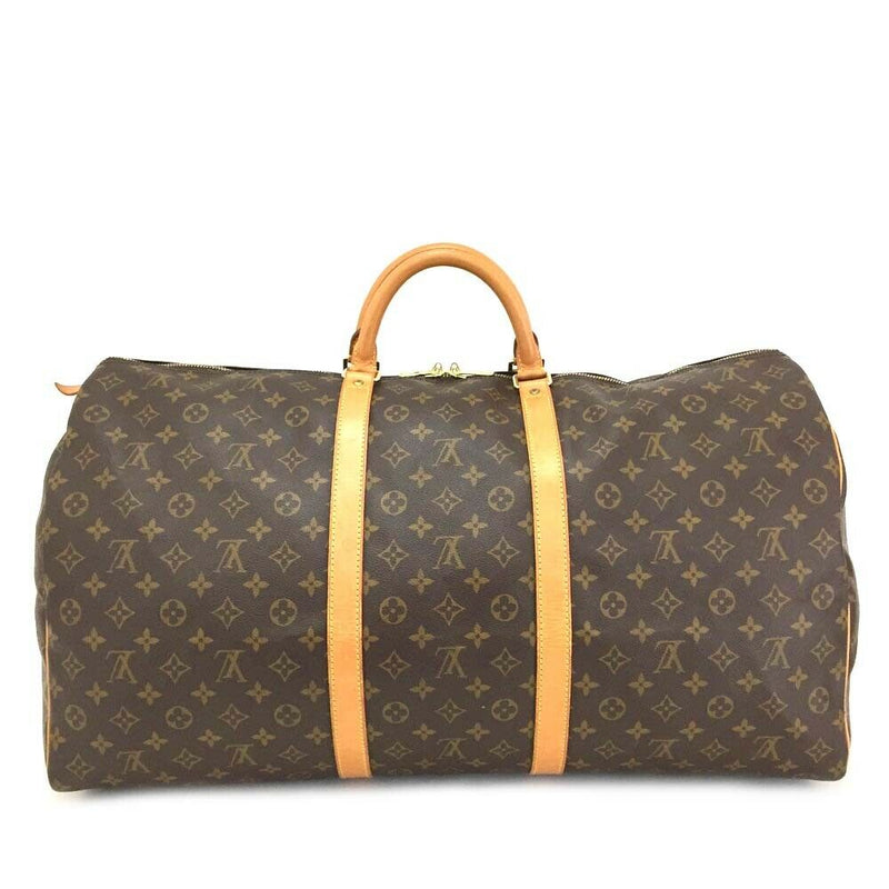 Pre-loved authentic Louis Vuitton Keepall 60 Boston sale at jebwa
