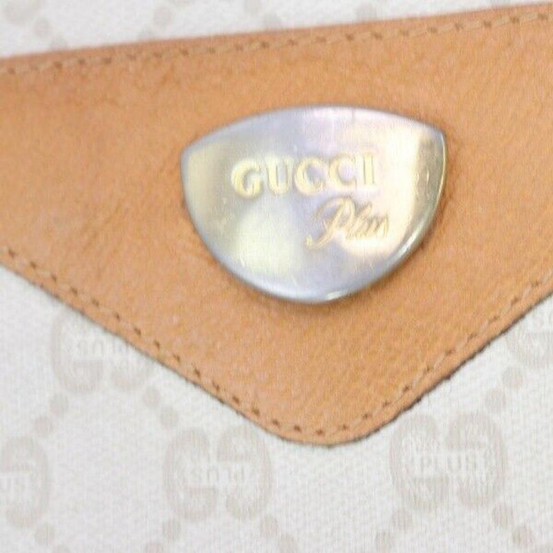 Pre-loved authentic Gucci Tote Bag Light Brown Coated sale at jebwa