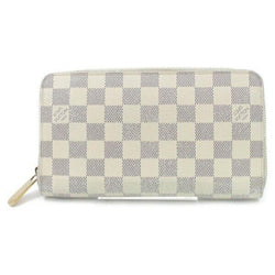 Pre-loved authentic Louis Vuitton Zippy Wallet White sale at jebwa