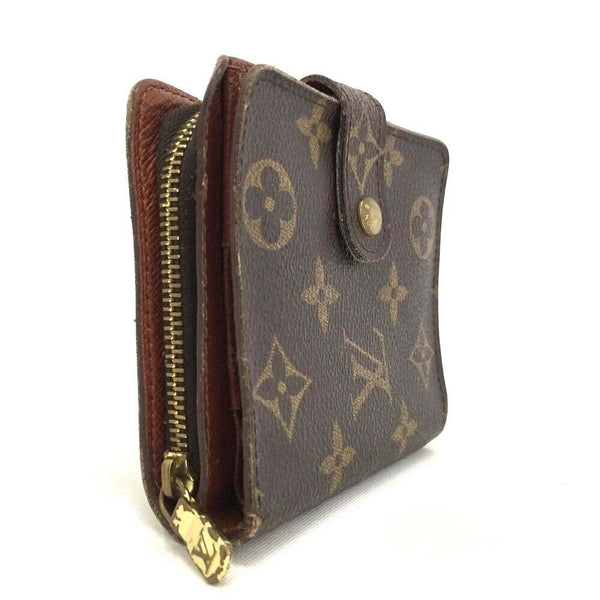 Pre-loved authentic Louis Vuitton Compact Zip Wallet sale at jebwa