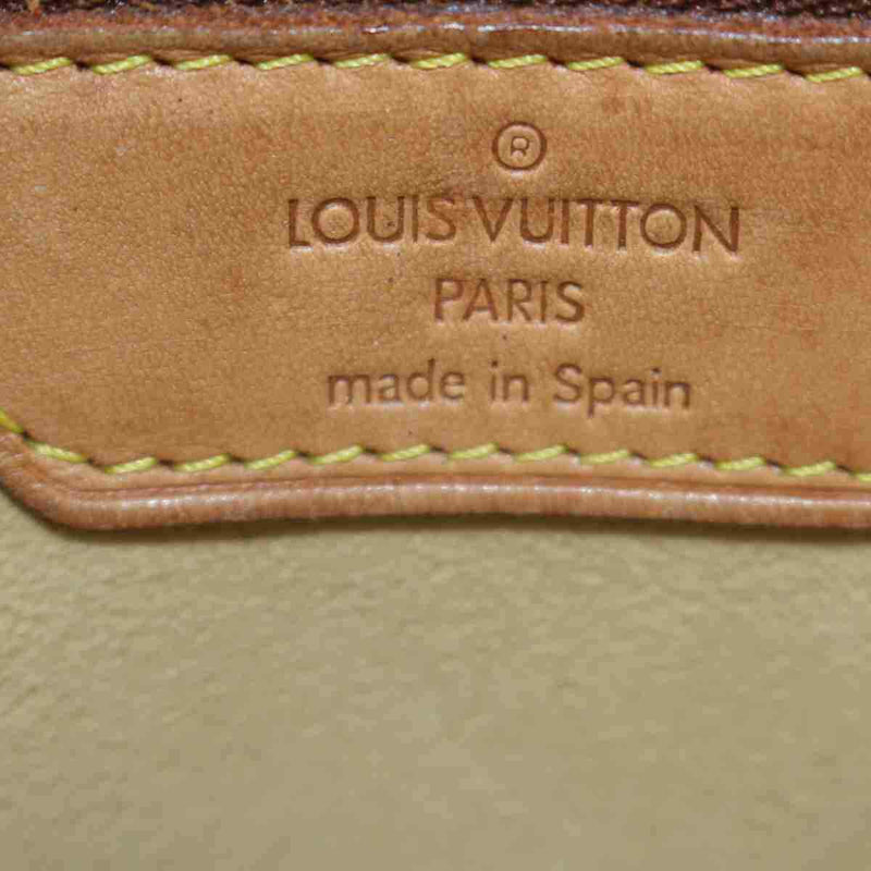 Pre-loved authentic Louis Vuitton Luco Tote Bag Brown sale at jebwa