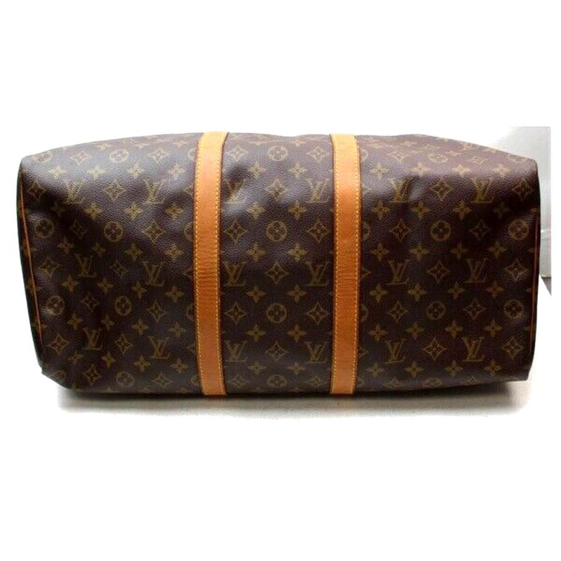 Pre-loved authentic Louis Vuitton Keepall 50 Travel Bag sale at jebwa