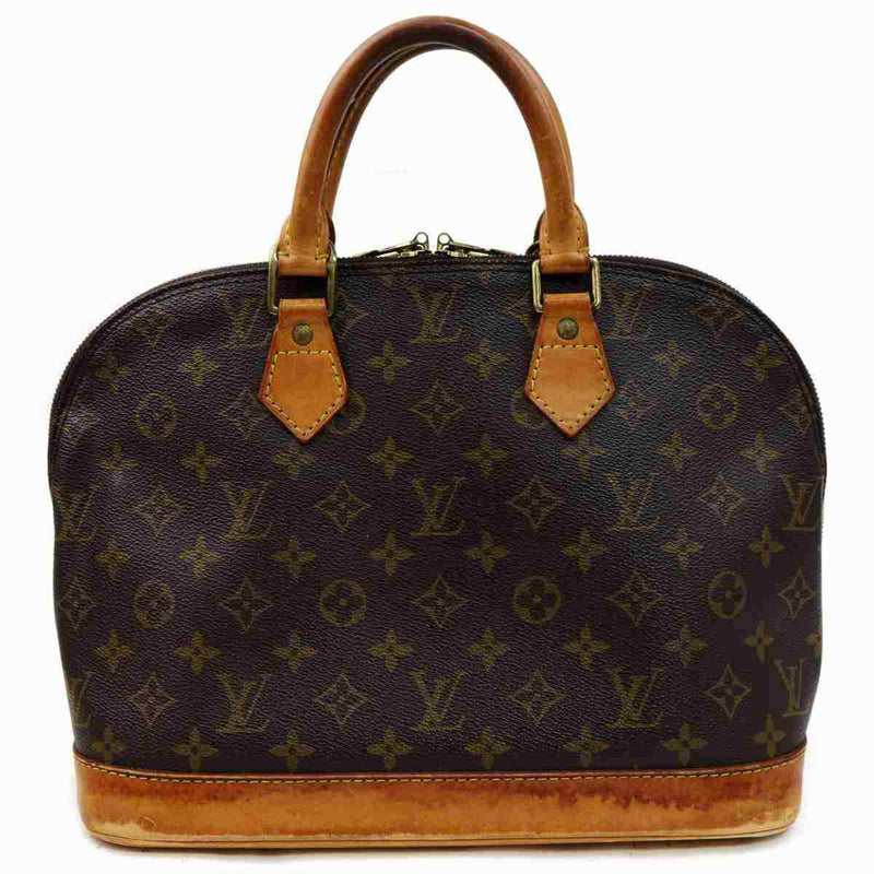Pre-loved authentic Louis Vuitton Alma Hand Bag Brown sale at jebwa