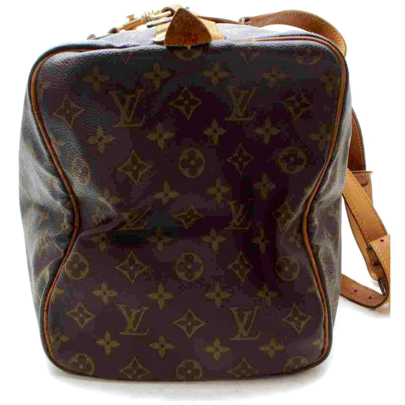 Pre-loved authentic Louis Vuitton Sac Souple 45 Travel sale at jebwa