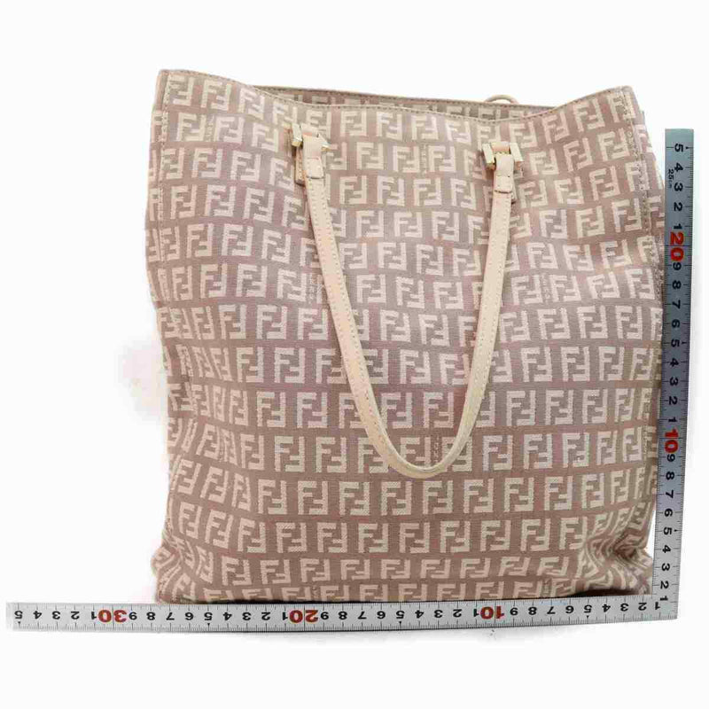 Pre-loved authentic Fendi Tote Bag Pink Zukka Canvas sale at jebwa