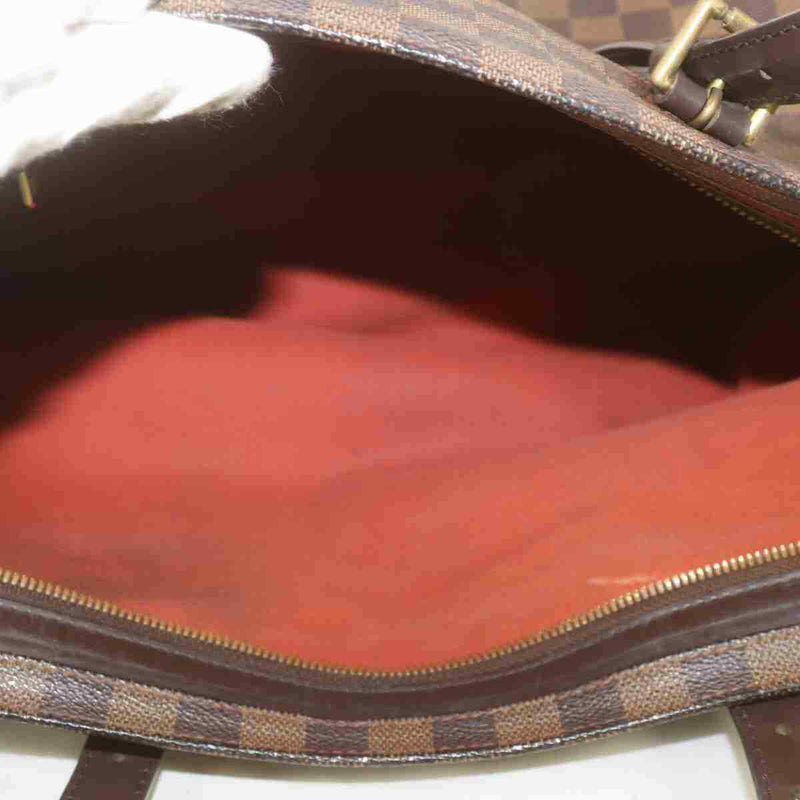 Pre-loved authentic Louis Vuitton Chelsea Tote Bag Dark sale at jebwa