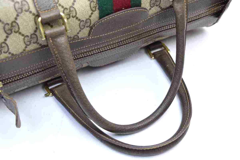 Pre-loved authentic Gucci Hand Bag Light Brown Coated sale at jebwa