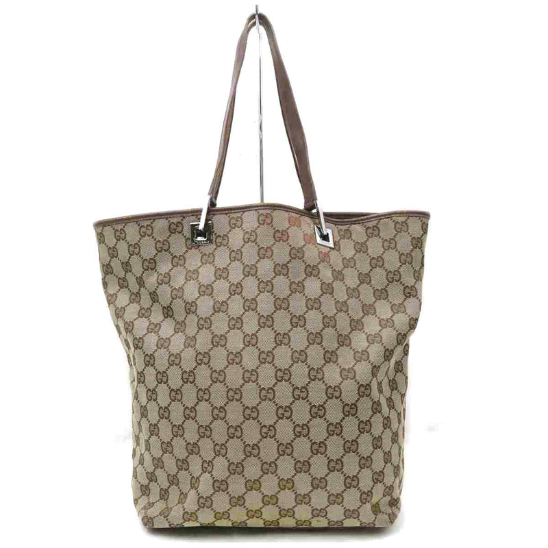 Pre-loved authentic Gucci Gg Tote Bag Brown Canvas sale at jebwa