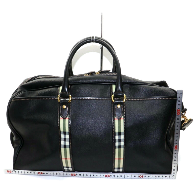 Pre-loved authentic Burberry Travel Bag Black Coated sale at jebwa