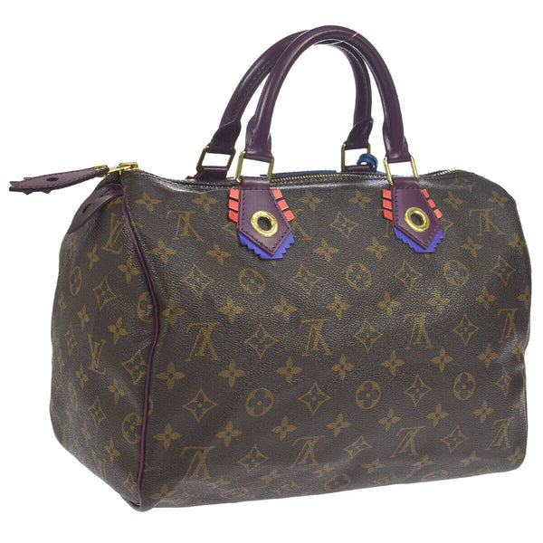 Pre-loved authentic Louis Vuitton Speedy 30 Totem Hand Bag sale at jebwa