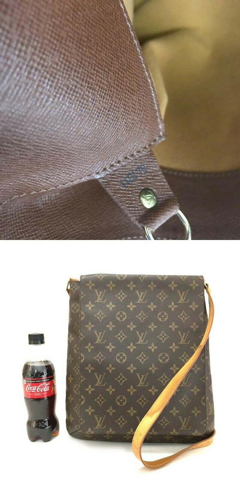 Pre-loved authentic Louis Vuitton Musette Gm Crossbody sale at jebwa