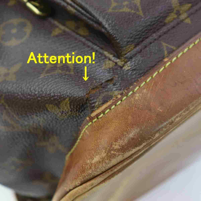 Pre-loved authentic Louis Vuitton Montsouris Gm sale at jebwa
