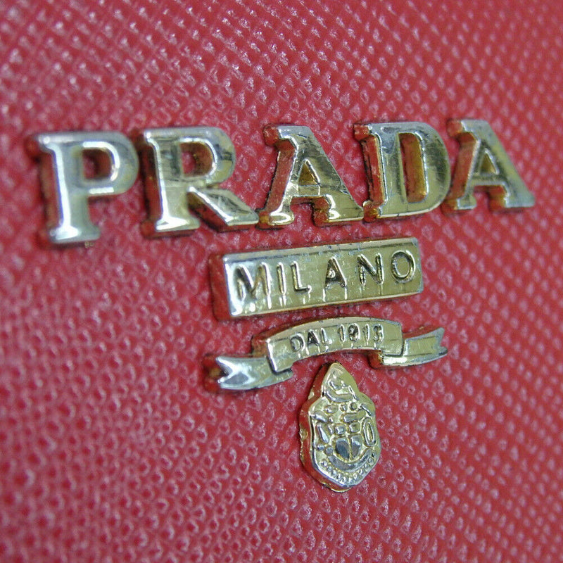 Prada Safiano Zip Around Purse
