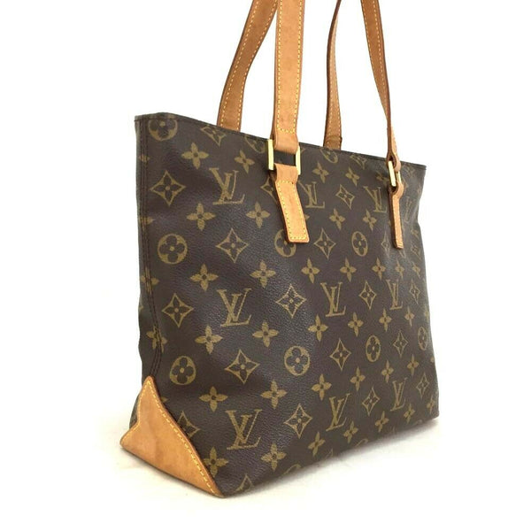 Pre-loved authentic Louis Vuitton Cabas Piano Tote Bag sale at jebwa