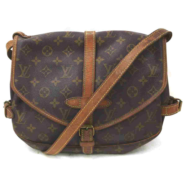 Pre-loved authentic Louis Vuitton Saumur 30 Crossbody sale at jebwa