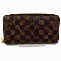 Pre-loved authentic Louis Vuitton Zippy Wallet Brown sale at jebwa.
