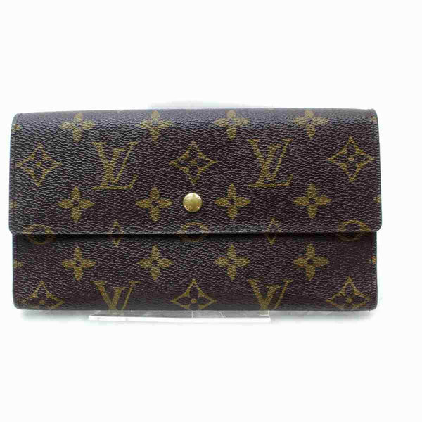 Pre-loved authentic Louis Vuitton Porte Tresor Long sale at jebwa.
