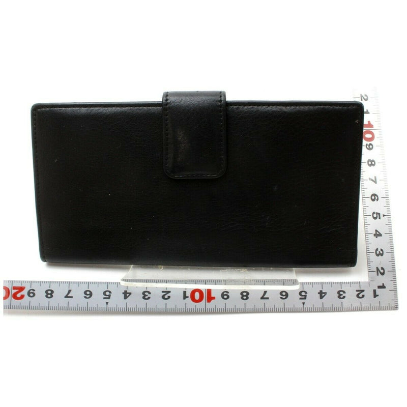 Pre-loved authentic Gucci Wallet Black Leather sale at jebwa.