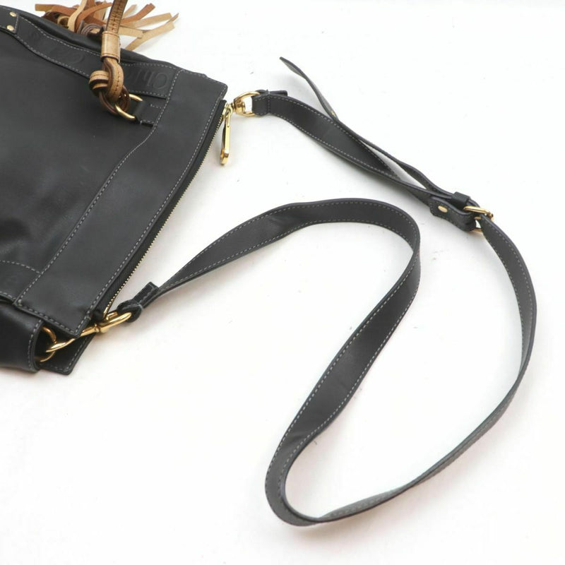 Pre-loved authentic Chloe Crossbody Bag Black Leather sale at jebwa.
