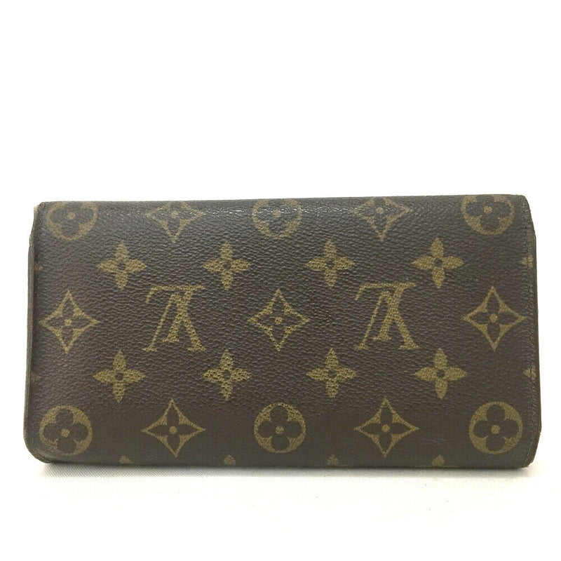 Pre-loved authentic Louis Vuitton Porte Tresor sale at jebwa.