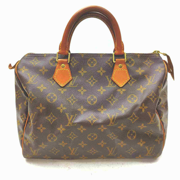 Louis Vuitton Speedy 30 Satchel Bag