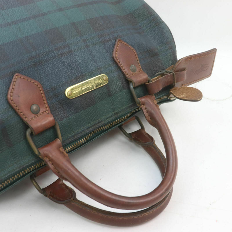 Ralph Lauren Hand Bag Pvc Green