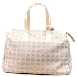 Chanel Travel Line Tote Bag Fabric