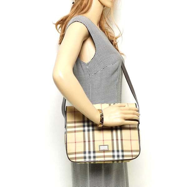 Pre-loved authentic Burberry London Shoulder Bag sale at jebwa