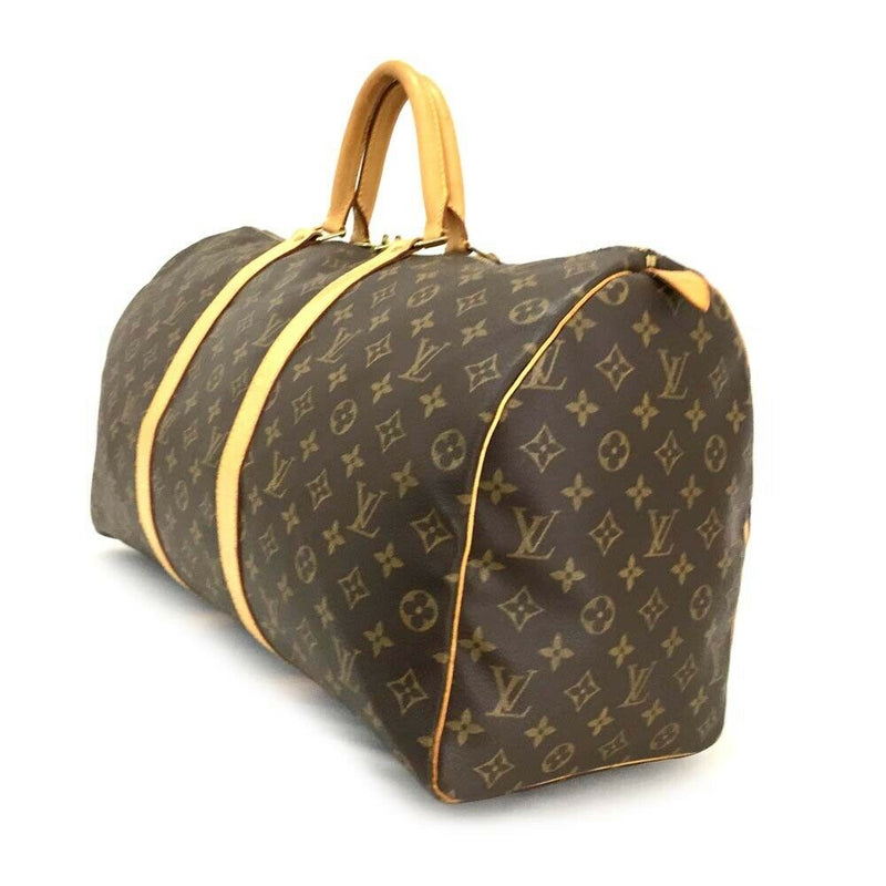 Pre-loved authentic Louis Vuitton Keepall 50 Boston sale at jebwa.