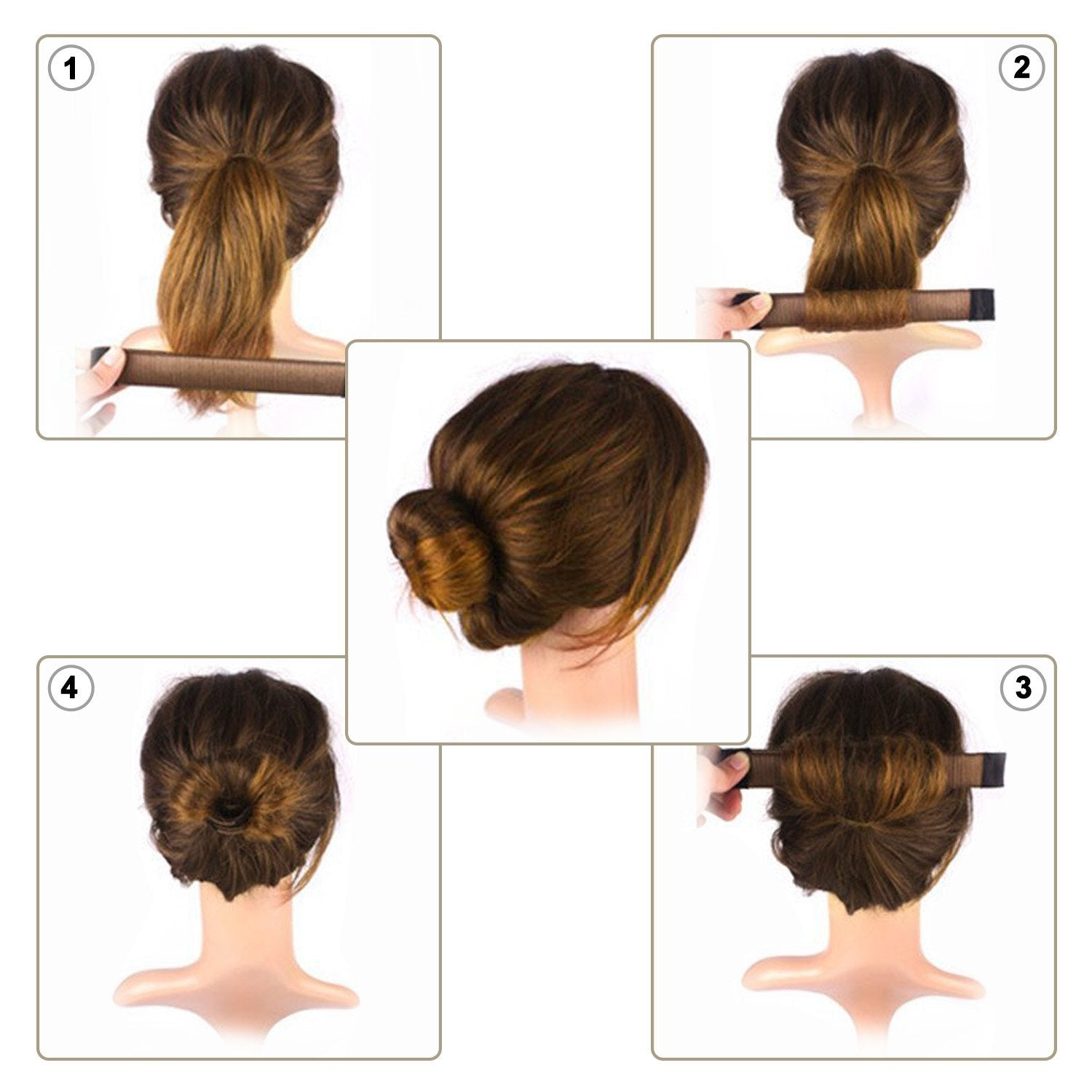 magic hair style magic twist hair bun maker bragdeals 6265