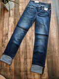 Judy Blue Dark Wash Straight Leg Jeans
