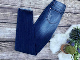 Judy Blue Cropped Ankle Fray Skinny