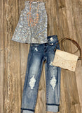 Judy Blue Acid Wash Boyfriend Jeans