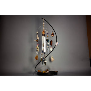 "Kinetic Mobile Sculpture ""SERAFIN"" - elementsinmotion"