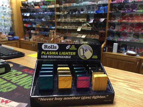 Rolls Plasma Lighter at BC Smoke Shop Victoria BC on Quadra