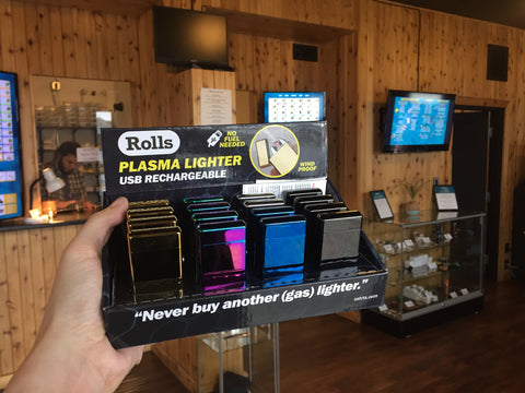 Rolls Plasma Lighter Sooke BC Medijuana Dispensary Victoria