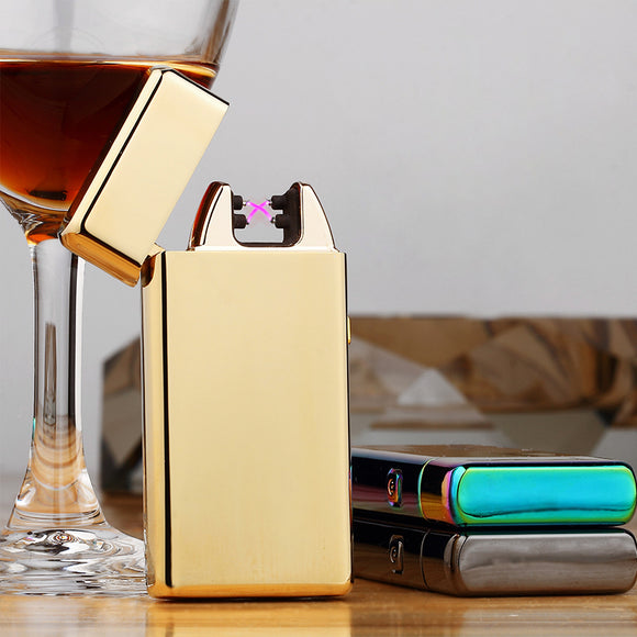 Rolls Plasma Lighter (Classic) Gold