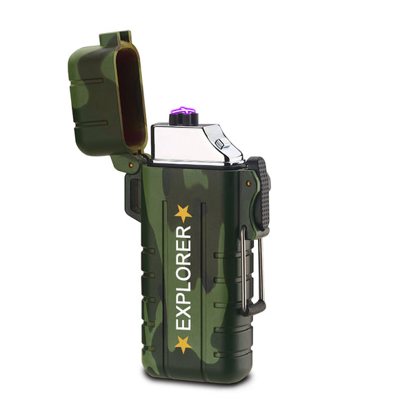 Waterproof Outdoor Lighter - USB Rechargeable Rolls Plasma Lighter