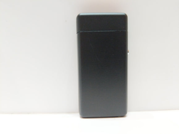 Matte black USB rechargeable electric plasma lighter