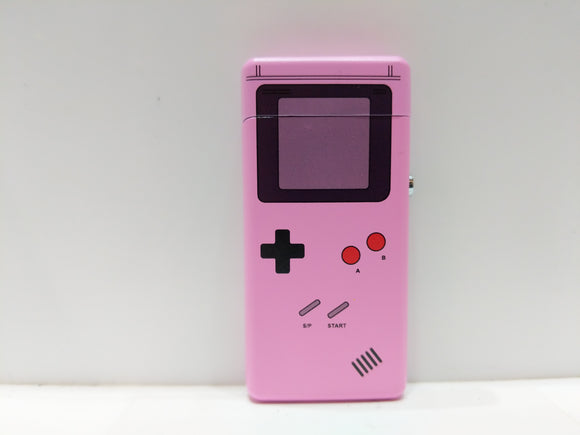 Pink Gameboy Electric Dual Arc Plasma Lighter USB