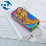 Rainbow Dragon - Rolls Plasma Lighter