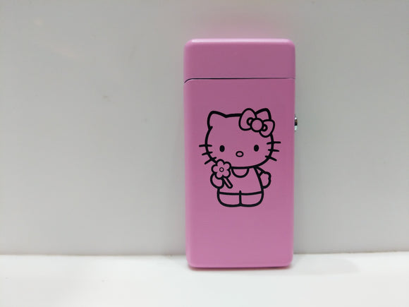 Hello Kitty Pink Plasma Lighter USB Rechargeable