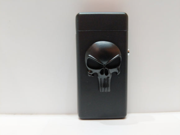 Punisher Skull Electric Plasma Lighter USB Rechargeable