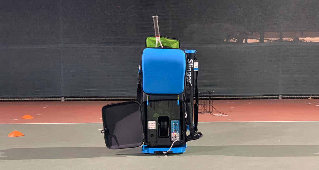 New Tennis Tech: The Slinger Bag