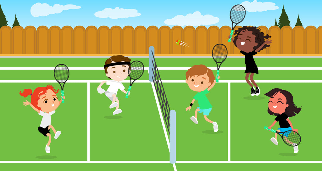 Tennis Drills for Kids At Home and On the Court