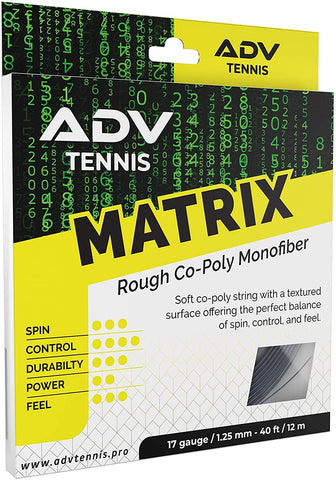 Matrix Rough Tennis String Set ADV Tennis