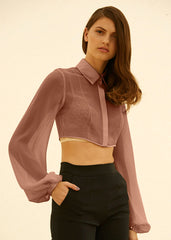 Joanna cropped blouse